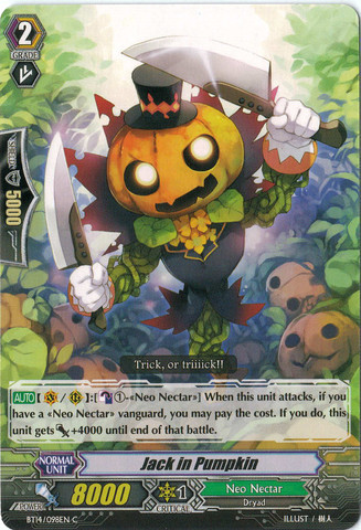 Jack In Pumpkin - BT14/098EN - C
