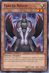 Fabled Raven - SDLI-EN020 - Common - 1st Edition