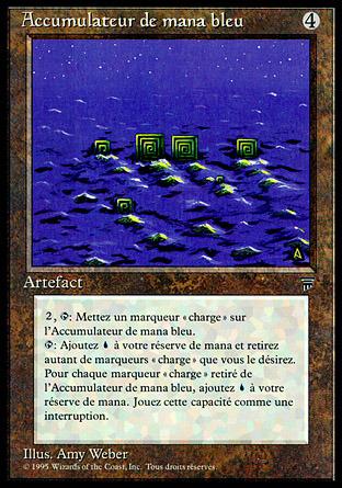 Blue Mana Battery (Accumulateur de mana bleu)