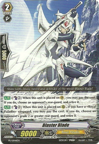 Blaster Blade - PR/0046EN - PR - Cardfight Vanguard ...