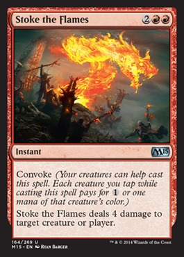 Stoke the Flames - Foil
