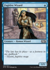 Fugitive Wizard - Foil on Channel Fireball