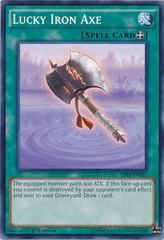 Lucky Iron Axe - YS14-EN027 - Common - 1st Edition