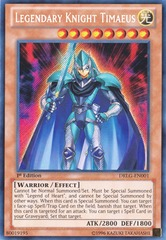 Legendary Knight Timaeus - DRLG-EN001 - Secret Rare - Unlimited Edition