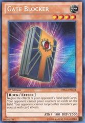 Gate Blocker - DRLG-EN034 - Secret Rare - Unlimited Edition