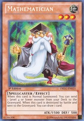 Mathematician - DRLG-EN023 - Secret Rare - Unlimited Edition