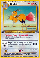 Dodrio - 34/64 - Uncommon - 1999-2000 Wizards Base Set Copyright Edition