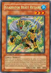 Gladiator Beast Retiari - CSOC-EN086 - Secret Rare - 1st Edition