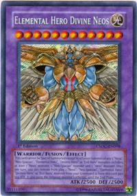 Elemental Hero Divine Neos - CSOC-EN098 - Secret Rare - 1st Edition