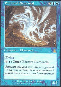 Blizzard Elemental