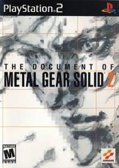Document of - Metal Gear Solid 2 (Playstation 2)