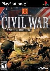 History Channel - Civil War - A Nation Divided (Playstation 2)