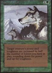 Aspect of Wolf on Channel Fireball