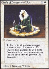 Circle of Protection: Blue on Channel Fireball