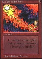 Red Elemental Blast