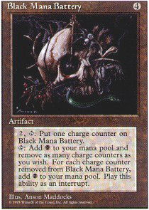 Black Mana Battery