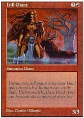 Hill Giant on Channel Fireball