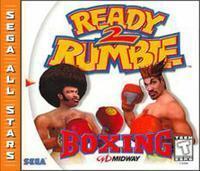 Ready 2 Rumble Boxing Sega All-Stars