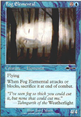 Fog Elemental on Channel Fireball