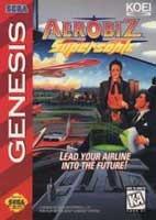 Aerobiz Supersonic  (Sega) - Genesis
