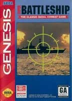 Super Battleship: The Classic Naval Combat Game (Sega) - Genesis