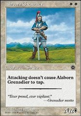 Alaborn Grenadier on Channel Fireball