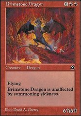 Brimstone Dragon on Channel Fireball