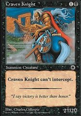 Craven Knight on Channel Fireball