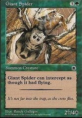 Giant Spider on Channel Fireball
