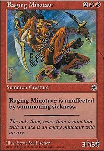 Raging Minotaur
