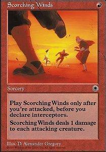 Scorching Winds