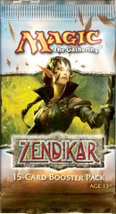 3x Zendikar Booster Packs (Draft Set)