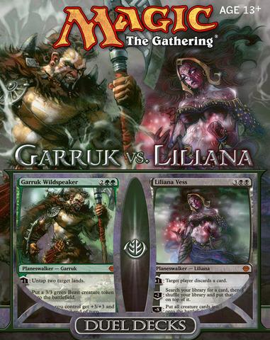 Duel Decks: Garruk vs Liliana