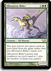 Allosaurus Rider on Channel Fireball