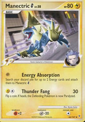 Manectric [G] - 66/147 - Uncommon on Channel Fireball