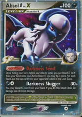 Absol [G] LV.X 141/147 - Holo Rare on Channel Fireball