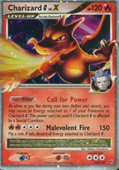 Charizard [G] LV.X - 143/147 - Rare Holo on Channel Fireball