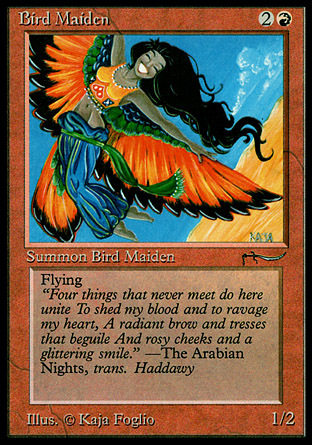 Bird Maiden (Light)