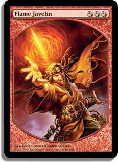 Flame Javelin - Textless Player Rewards