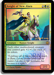 Knight of New Alara - Foil - Launch Promo