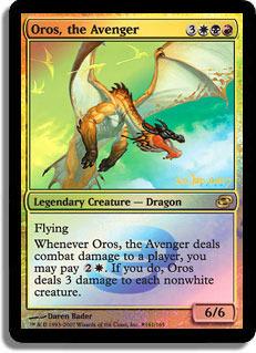 Oros, the Avenger - Foil - Prerelease Promo