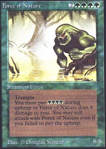 Force of Nature (Not Tournament Legal)