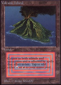 Volcanic Island (Not Tournament Legal)