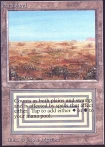 Scrubland (Not Tournament Legal)