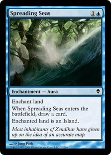 Spreading Seas