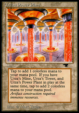 Urzas Power Plant (Columns)