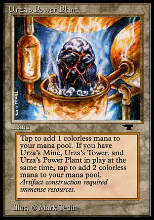 Urzas Power Plant (Rock in Pot)