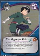 The Opposites Rule - M-086 - Common - 1st Edition
