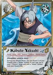 Kabuto Yakushi - N-606 - Super Rare - 1st Edition - Foil