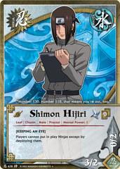 Shimon Hijiri - N-628 - Uncommon - 1st Edition
